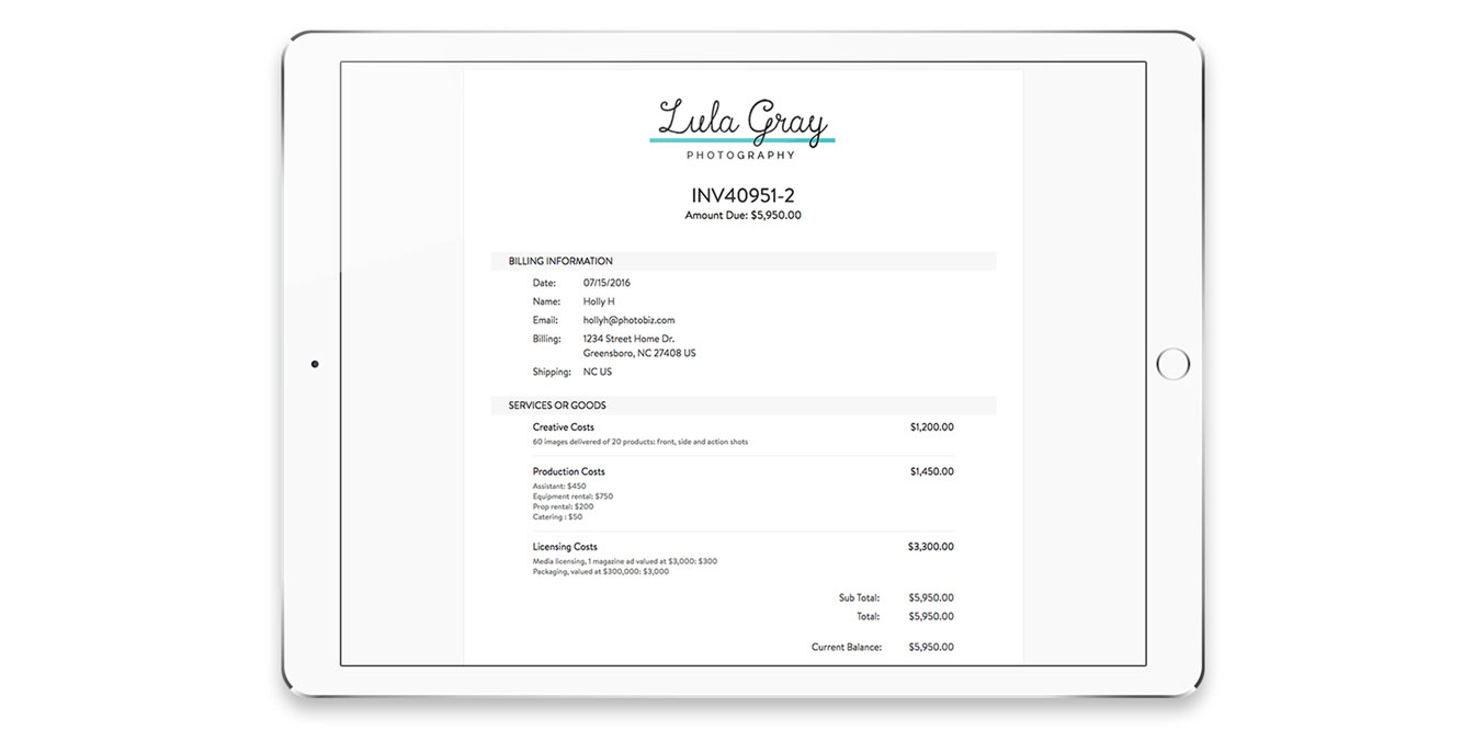 Professional Branded Invoices Online Zibster - How to create a professional invoice